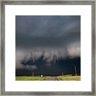 August Thunder 036 Framed Print by Dale Kaminski