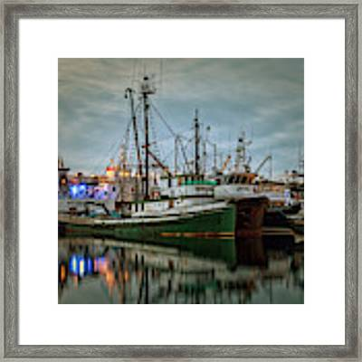 Full House 2 Framed Print by Randy Hall