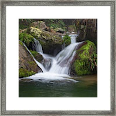 Mountain Waterfall IIi Framed Print by William Dickman