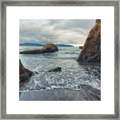 Oregon Coast Framed Print by Nicole Young
