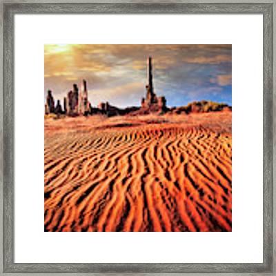 Totem Dunes Framed Print by Scott Kemper