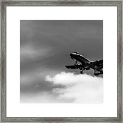 A-10 Slow Pass Framed Print by Doug Camara