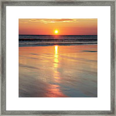 A Morning Of Reflection Framed Print by Tim Gainey