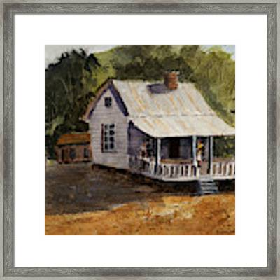 Afternoon At Grandma's Framed Print by Barry Jones
