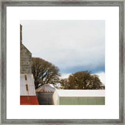 Agriculture Storage Framed Print by Dee Browning