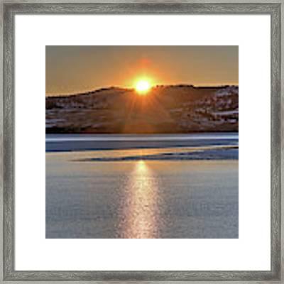 Angostura Sunset Framed Print by Bill Gabbert