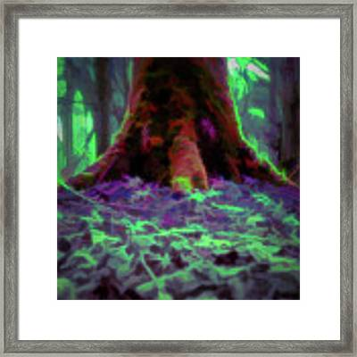 Another World - Overgrown Framed Print by Scott Lyons