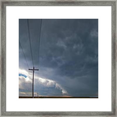 August Thunder 004 Framed Print by Dale Kaminski