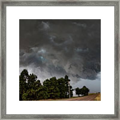 August Thunder 012 Framed Print by Dale Kaminski