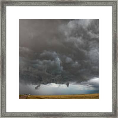 August Thunder 020 Framed Print by Dale Kaminski
