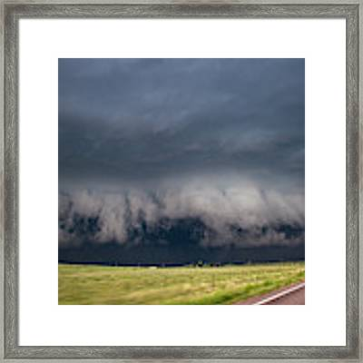 August Thunder 034 Framed Print by Dale Kaminski
