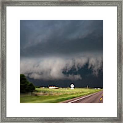 August Thunder 035 Framed Print by Dale Kaminski