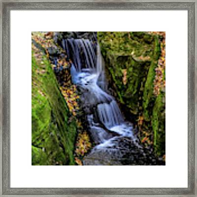 Autumn At Pewits Nest Framed Print by Dawn Richards