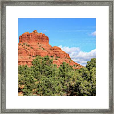 Bell Rock, Sedona Framed Print by Dawn Richards