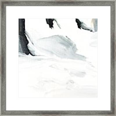 Black And White #2 Framed Print by Maria Langgle