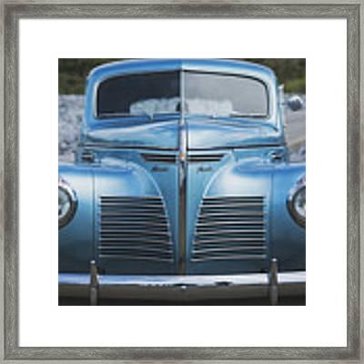 Blue Plymouth Framed Print by Elliott Coleman