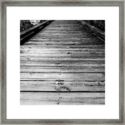 Boardwalk  Framed Print by Doug Camara