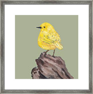 Bright Spot #2 Framed Print by Maria Langgle