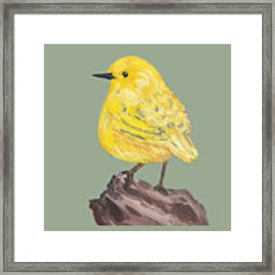 Bright Spot #3 Framed Print by Maria Langgle