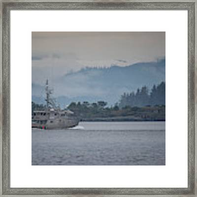 Canadian Shore Framed Print by Randy Hall