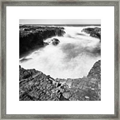 Cape Perpetua Framed Print by Whitney Goodey