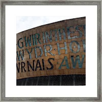 Cardiff Photo 8  Framed Print by Jenny Potter