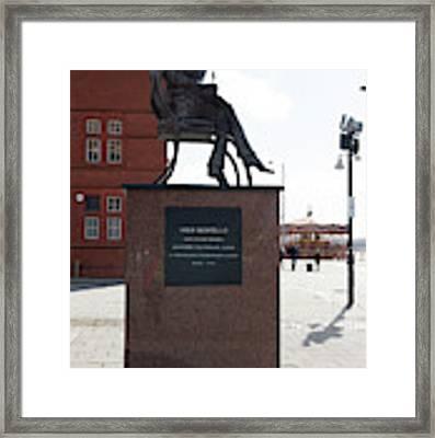Cardiff Photo 9 Framed Print by Jenny Potter