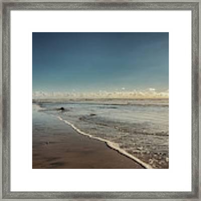 Carlsbad Low Tide Framed Print by Alison Frank