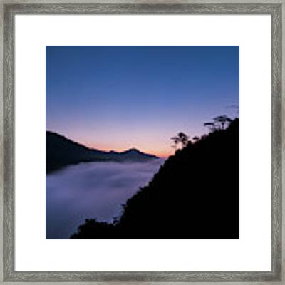 Cloud River Twilight Framed Print by William Dickman