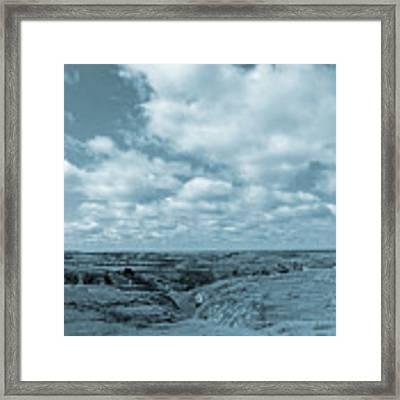 Cloudy Prairie Reverie Framed Print by Cris Fulton