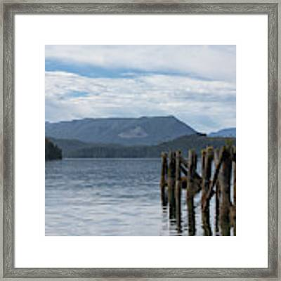 Coal Harbour Framed Print by Randy Hall