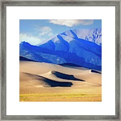 Colorado Dunes Framed Print by Scott Kemper
