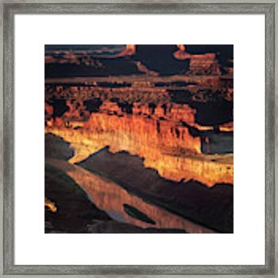 Colorado River Flow Framed Print by Scott Kemper