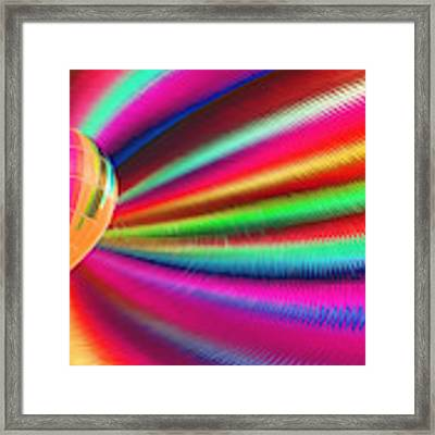 Come Fly With Me - Painting Framed Print by Ericamaxine Price