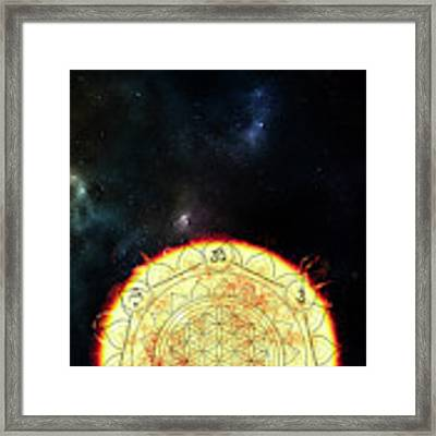 Creative Force Framed Print by Bee-Bee Deigner