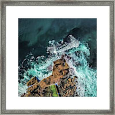 Curly Headland Framed Print by Chris Cousins