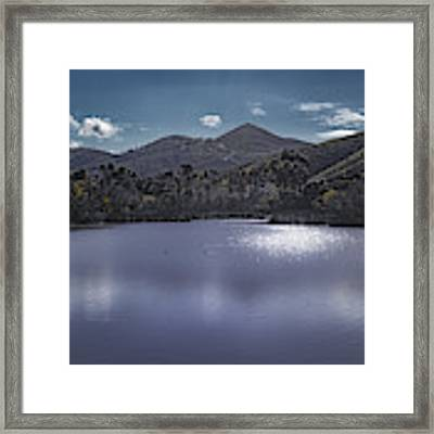 Discovery Lake Beauty Framed Print by Alison Frank