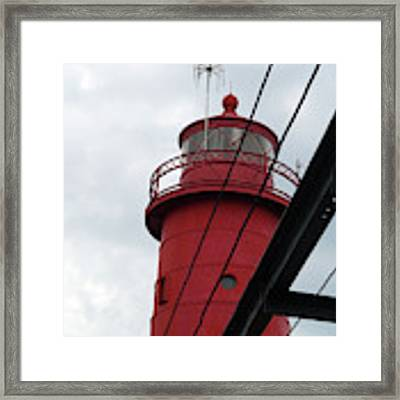 Dressed In Red Framed Print by Michelle Wermuth
