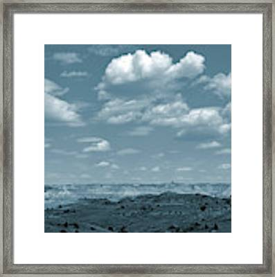 Drifting Clouds And Shifting Shadows Framed Print by Cris Fulton