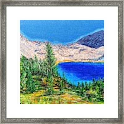Duck Pass Framed Print by Kevin Daly
