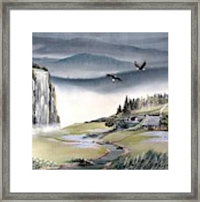 Eagle View Framed Print by Deleas Kilgore