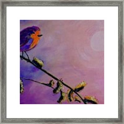 Early Bird Framed Print by Jacqueline Athmann