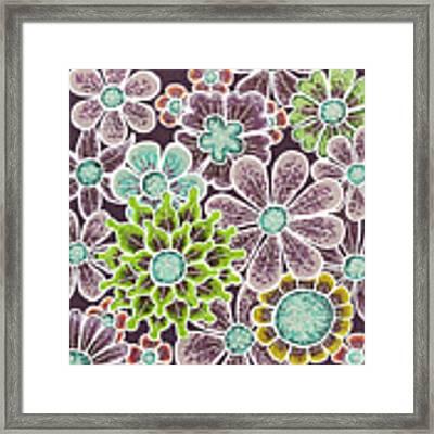 Efflorescent 12 V2 Framed Print by Amy E Fraser