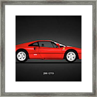 Ferrari 288 Gto Framed Print by Mark Rogan