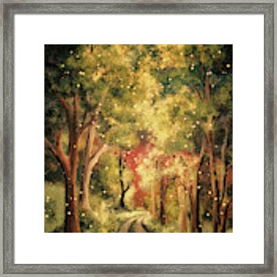 Firefly Twilight Framed Print by Lois Bryan