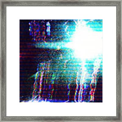 Flashlight Framed Print by Bee-Bee Deigner