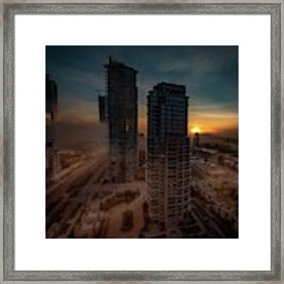 Foggy Day 1 Framed Print by Juan Contreras