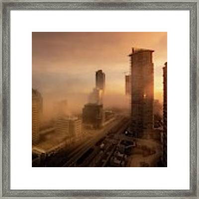 Foggy Day 2 Framed Print by Juan Contreras