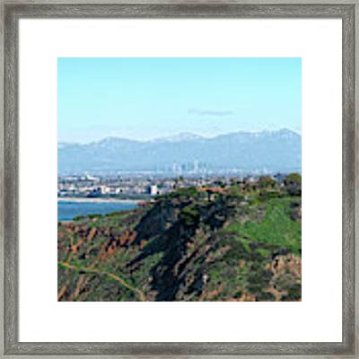 From Pv To La Framed Print by Michael Hope