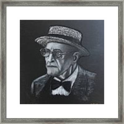 George Who? Framed Print by Richard Le Page
